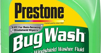 Prestone AS657-6PK Bug Wash Windshield Washer Fluid, 1 Gallon